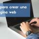 6 pasos para crear pagina web
